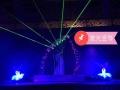 梅州舞狮开业3D裙摆3D全息外籍资源互动视频秀演出