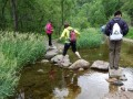 走进水泉沟 用脚步去征服大自然