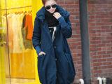 品牌新款女式棉衣 韩版修身长款棉衣女 连帽棉衣女款 女款棉衣