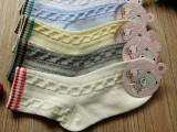 15夏季新款纯棉童袜素色网眼镂空男女宝宝袜彩色罗口无骨童袜批发