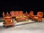 缅甸花梨沙发7件套价格