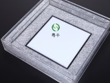 欢迎来样定 制有机玻璃制品LED灯罩 有机玻璃内镶水晶灯罩
