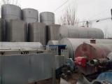 延边出售二手40吨食品级不锈钢储罐