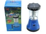 太阳能充电一体式强光手电筒 LED手提灯 帐篷灯 营地灯 野营灯
