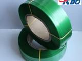 批发绿色环保包装带 批发绿色透明PET带