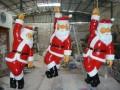 圣诞树圣诞老人道具模型出租著名微景观建筑模型埃菲尔铁塔租赁
