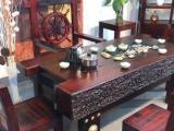 老船木家具茶几博古架柜子餐桌茶桌椅办公桌组合