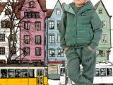 休闲品牌套装中大童男童三件套加棉加厚校服必选款厂家现货特价爆