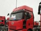解放 J5 310马力双驱牵引车,手续齐全,可全国提档过户。4年9万公里13.8万