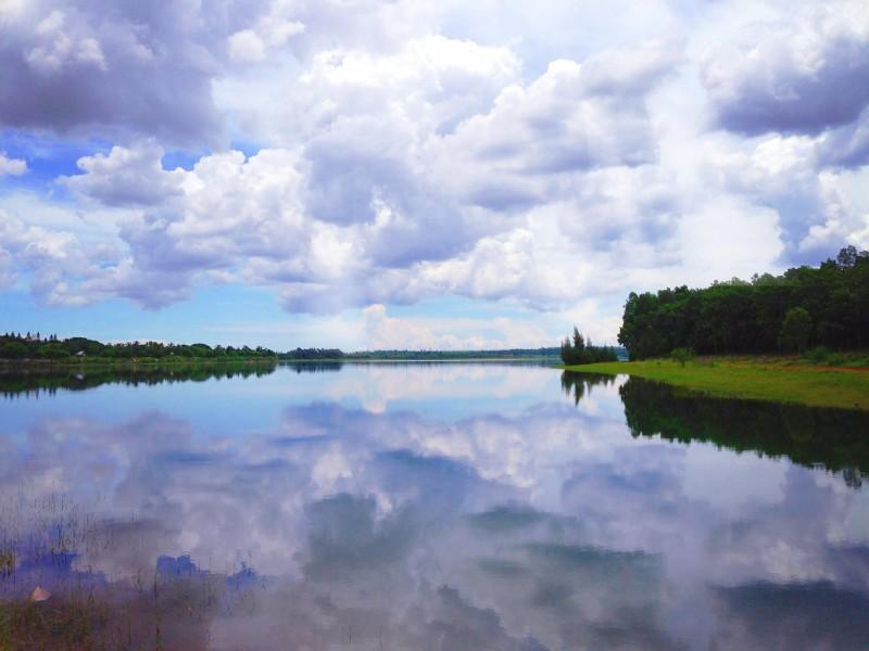 海南省澄迈中华坊 世界长寿之乡 富硒红土福山蓝山湖