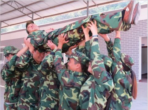 赣州亮剑企业新员工入职培训做企业的**江西军事训练营