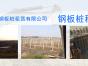 河北邯郸拉森钢板桩   德信在河北邯郸拉森钢板桩
