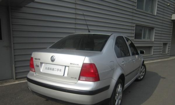 大众宝来2005款 宝来 1.6 手动 基本版 4S店寄售车辆车况原版