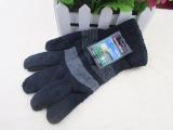 厂家直销爆款手套 男士全指手套批发 冬季拉毛手套 保暖手套