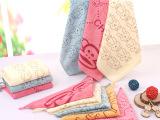 超细纤维卡通印花小方巾 儿童宝宝柔软吸水 不掉毛 幼儿园专用