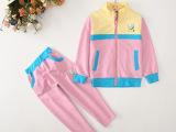 15秋季新款儿童韩版长裤长袖纯棉童套装外贸出口品牌童装厂家热批