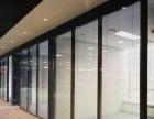 玻璃隔断 活动隔断 高隔间 办公隔断 双玻百叶隔断