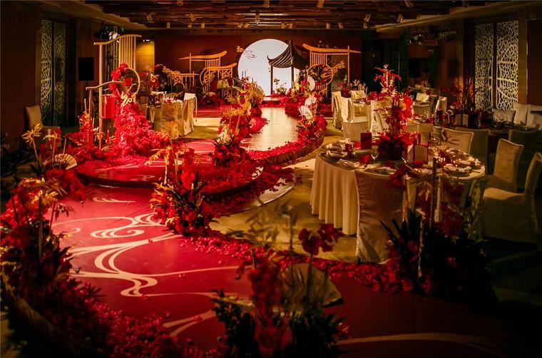 红色,新中式婚礼