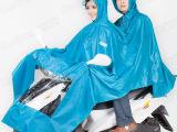 淘宝**成人电动车摩托车电瓶车雨披 户外雨衣雨具现货供应