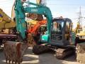 二手神钢75-8挖掘机,进口机 性能好,干活快,到手盈利