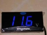 汽车电压表/车载电压检测表 12V专用 电压显示8—16V 批发