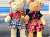littlecucu 毛衣玩具熊 正版情侣泰迪熊 高质量商场毛绒