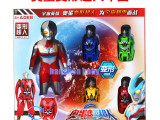 宇宙超人 变形奥蛋超人套装 变形玩具 儿