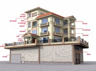 佛山真石漆工程施工,佛山GRC构件工程施工门口罗马柱装饰