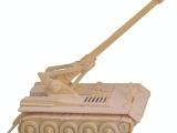 自行火炮/热销货源不可错过/手工自装3D益智木制模型/益智DIY
