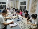 淄博张店书法学校 欢迎来麒羽书画艺术学校