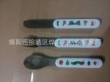揭阳厂家供应塑料柄儿童餐具刀勺叉婴幼儿塑料柄不锈钢儿童餐具