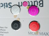 厂家优质苹果iphone5 高档金属拉丝铝合金home按键贴