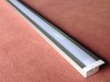 阳极氧化硬灯条外壳银色led硬灯条外壳可装PC罩子