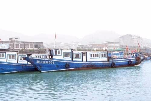 台州三门出海捕鱼游 健跳码头