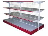 厂家直销超市货架便利店展示架可拆卸层板货架单双面货架