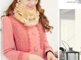 新款秋冬装 毛呢外套 女 韩版中长款毛呢大衣 呢子风衣