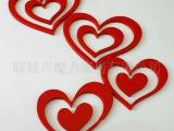 山东创意格子厂家批发 低价销售心形墙贴 创意墙贴墙面装饰