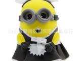 小黄人女仆人公仔3d造型彩泥 太空泥超轻粘土超轻彩泥 批发玩具