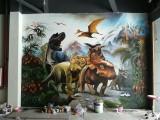 广州手绘墙绘涂鸦艺术,个人工作室无差价,广美团队