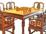 古典餐厅全套 实木家具 红木餐桌椅组合