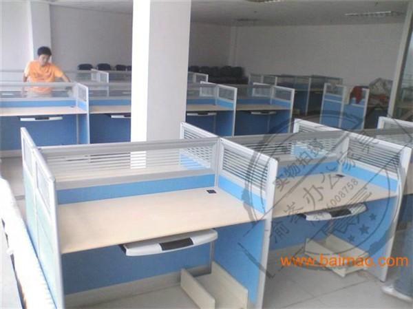 重庆江北办公家具折叠条桌展会桌会议桌卡位桌员工上下铁床售