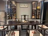 重庆白蜡木大板茶台 定制茶台实木茶桌大板