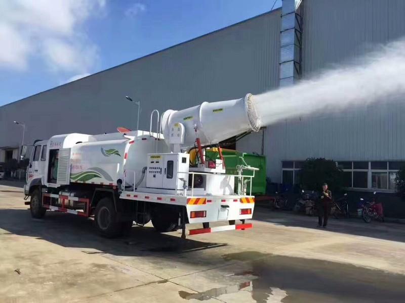 勾臂挂桶压缩洗扫洒水抑尘环卫车生产厂家直销质量有保证
