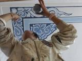 云南幼儿园墙体彩绘云南墙体彩绘云南白族民居彩绘