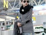 外贸女装爆款服装新款韩版 条纹 打底 女装 长袖 T恤 批发