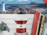 烛台 灯塔 铁皮 地中海风格 家居摆件 蜡烛台 家装 MA011