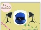 60CM圆型摄影棚 套装/摄影灯+珠宝台+4色背景布