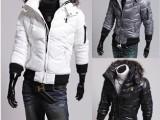 欧美风格 老鹰刺绣 冬装新款外贸** 男士加厚棉衣棉服 WY02