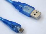 纯铜加编织1米micro usb线 手机,平板电脑数据线 2.0
