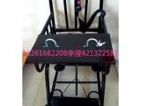 圆管型审讯椅 仿不锈钢铁质审讯椅 不锈钢审讯椅 公安审讯椅